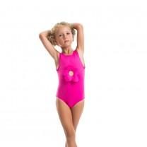 Pink Flower Swimsuit