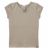 Beige Sparkly T-Shirt