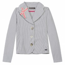 Beige Stripes Jacket