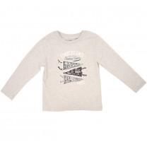 Flag Race Grey T-shirt
