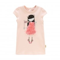 Pink Ms. Marc Printed Dress